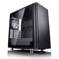 【カード決済可能】「2021年4月度ショップ・オブ・ザ・マンス 都道府県賞を受賞致しました!」 Fractal Design Define Mini C Black Tempered Glass(FD-CA-DEF-MINI-C-BK-) 目安在庫=○【10P03Dec16】