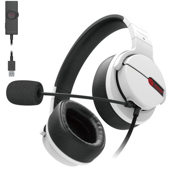 エレコム ゲーミングヘッドセット ARMA/オーバーヘッド/アダプタ付/ホワイト(HS-ARMA200VWH) メーカー在庫品【10P03Dec16】