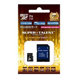 SuperTalent UHS-I Class10 対応 microSDXCカード 256GB ST56MSU1P 目安在庫=○【10P03Dec16】
