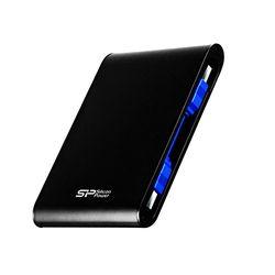 Silicon Power Armor A80 ポータブルHDD 1TB Black SP010TBPHDA80S3K 目安在庫=△【10P03Dec16】