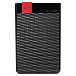 Silicon Power Diamond D30 ポータブルHDD 5TB Black SP050TBPHDD3LS3K 目安在庫=△【10P03Dec16】