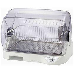 タイガー魔法瓶 食器乾燥器 <サラピッカ> 温風式 トレイ付き ホワイト(DHG-S400W) 目安在庫=△【10P03Dec16】