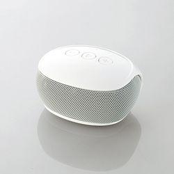 エレコム Bluetoothスピーカー/スマホ用/コンパクト/ホワイト LBT-SPP20WH メーカー在庫品【10P03Dec16】