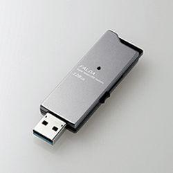 エレコム USBメモリー/USB3.0対応/スライド式/高速/DAU/128GB/ブラック(MF-DAU3128GBK) メーカー在庫品【10P03Dec16】
