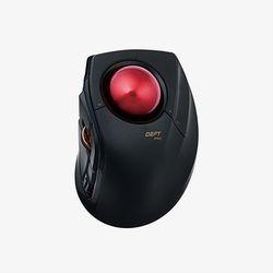 エレコム トラックボールマウス/人差指/8ボタン/有線/無線/Bluetooth/ブラック(M-DPT1MRBK) 目安在庫=△【10P03Dec16】