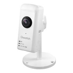アイ・オー・データ機器 180度パノラマビュー対応ネットワークカメラ「Qwatch(クウォッチ)」(TS-WRFE) 目安在庫=○【10P03Dec16】