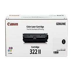 純正品 Canon キャノン CRG-322IIBLK トナーカートリッジ322II ブラック (2653B001) 目安在庫=△【10P03Dec16】