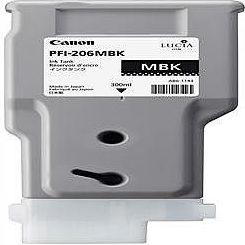 純正品 Canon キャノン PFI-206 MBK インクタンク マットブラック (5302B001) 目安在庫=△【10P03Dec16】