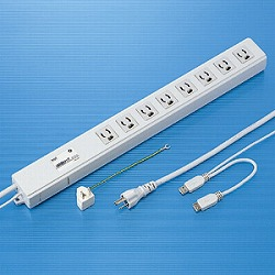 サンワサプライ USB連動タップ TAP-RE4UN メーカー在庫品【10P03Dec16】