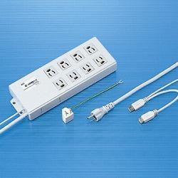 サンワサプライ USB連動タップ TAP-RE2UN メーカー在庫品【10P03Dec16】