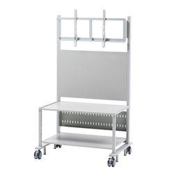 サンワサプライ 55~84型対応液晶ディスプレイスタンド(CR-PL101SCGY) メーカー在庫品【10P03Dec16】