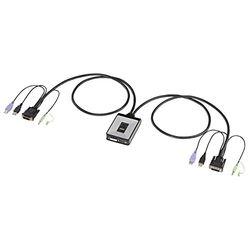 サンワサプライ ディスプレイエミュレーション対応DVIパソコン自動切替器(2:1)(SW-KVM2DUN) メーカー在庫品【10P03Dec16】