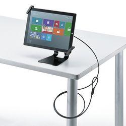 サンワサプライ タブレット汎用セキュリティ10-13対応 eセキュリティ・ブラック(SLE-31STB13BK) メーカー在庫品【10P03Dec16】