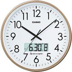 カシオ計算機 壁掛け電波時計(チャイム機能付き) シャンパンゴールド IC-2100J-9JF メーカー在庫品【10P03Dec16】
