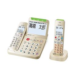シャープ デジタルコードレス電話機 子機1台タイプ ゴールド系(JD-AT95CL) 目安在庫=○【10P03Dec16】