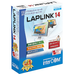 インターコム LAPLINK 14 2ライセンスパック(対応OS:その他)(0780350) 目安在庫=△【10P03Dec16】