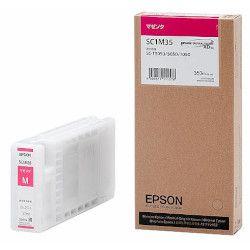 純正品 EPSON (エプソン) SC1M35 Sure Color用 インクカートリッジ/350ml(マゼンタ) (SC1M35) 目安在庫=△【10P03Dec16】