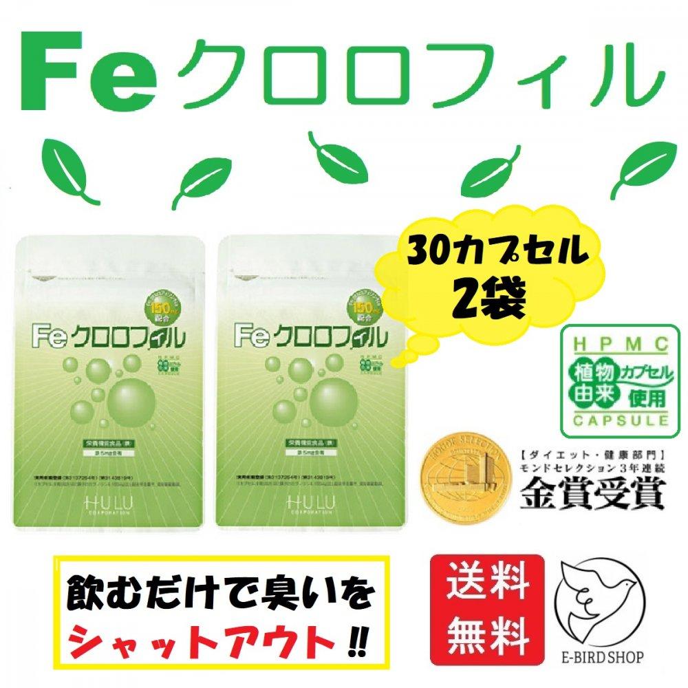 高級な Feクロロフィル 格安 2袋セット