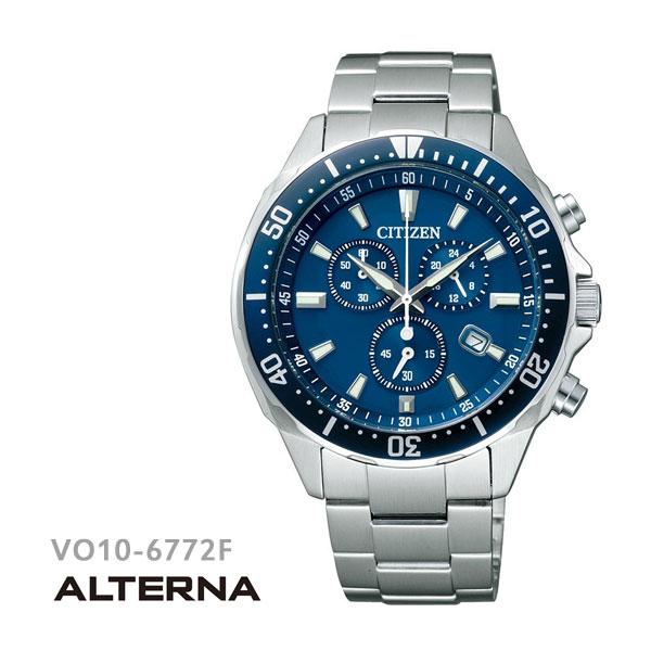シチズン CITIZEN オルタナ ALTERNA エコドライブ 腕時計 VO10-6772F