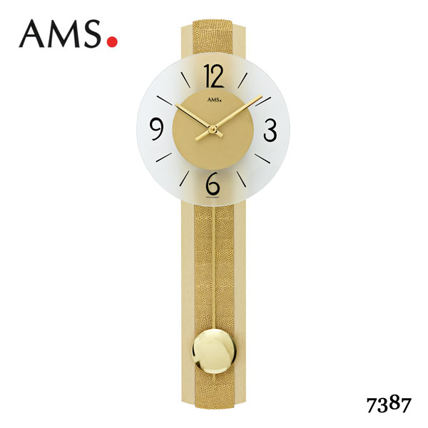 clock wall wooden watches brown of picture rhythm takhfeed pendulum