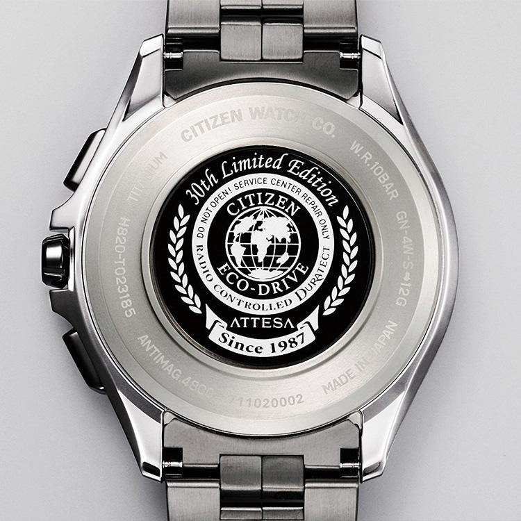 5年保证居民西铁城atessa电波钟表环保·开车兜风限定手表AT9105-58L