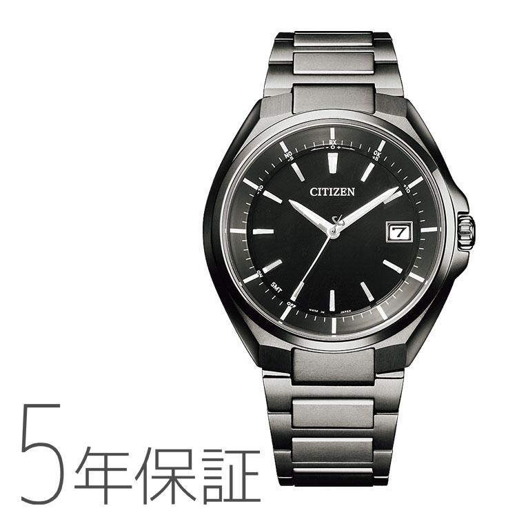 5年保证atessa ATTESA居民西铁城太阳能电波钟表钛CB3015-53E