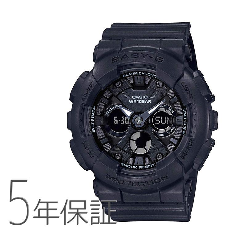 BABY-G ベビーG BA-130-1AJF CASIO カシオ ビッグケース ブラック 黒 メンズライク 腕時計 レディース