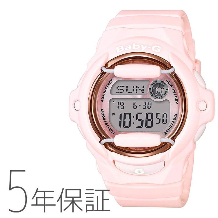 BABY-G baby-g ベビーG BG-169G-4BJF カシオ CASIO ピンクブーケシリーズ Pink Bouquet Series 20気圧防水 パステルピンク シャーベットカラー レディース 腕時計