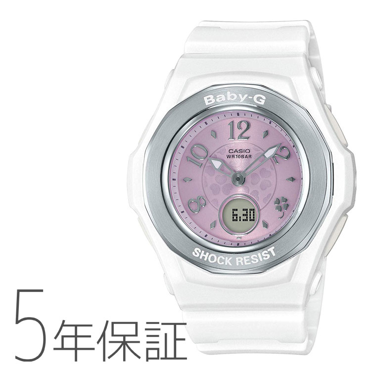 BABY-G ベビーG カシオ CASIO タフソーラー 電波腕時計 ウィッシング・クローバー・ダイアル レディース BGA-1050CD-7BJF