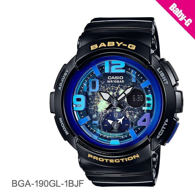 カシオ CASIO BABY-G ベビーG baby-g ビーチ トラベラー BGA-190GL-1BJF 腕時計 レディース