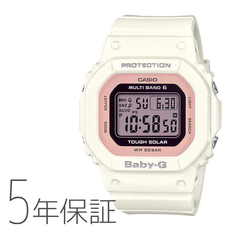 BABY-G ベビーG カシオ CASIO タフソーラー 電波腕時計 レディース BGD-5000-7DJF