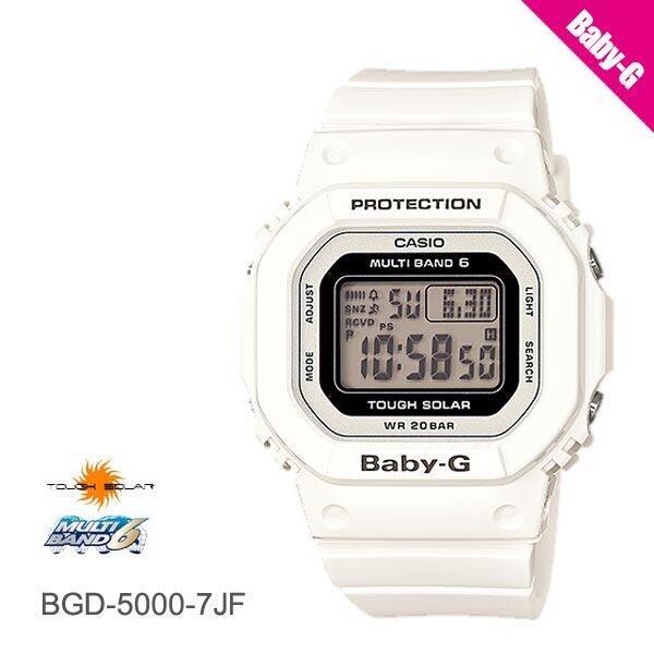 カシオ CASIO BABY-G baby-g ベビーG 電波ソーラー BGD-5000-7JF レディース 腕時計