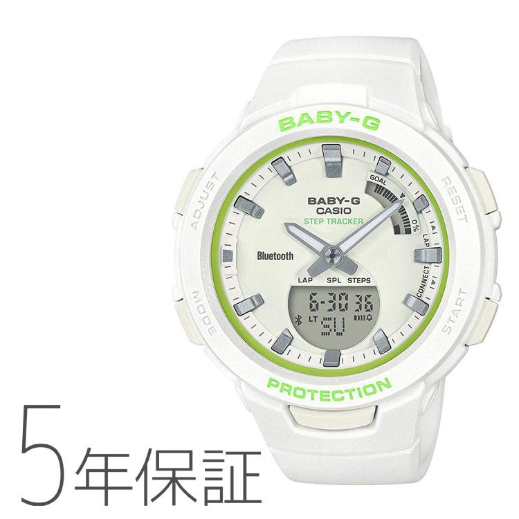 BABY-G ベビーG カシオ CASIO G-SQUAD モバイルリンク レディース BSA-B100SC-7AJF