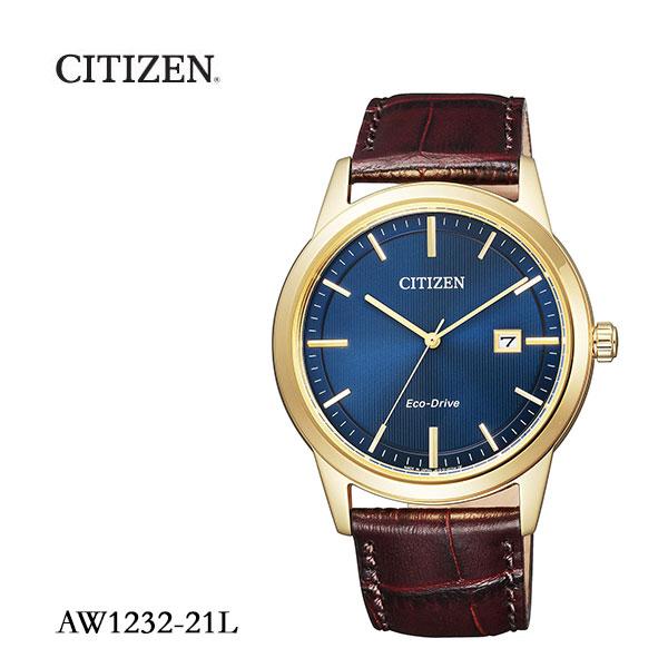 シチズン CITIZEN エコ・ドライブ フレキシブルソーラー ペア メンズ 日本製 AW1232-21L 腕時計