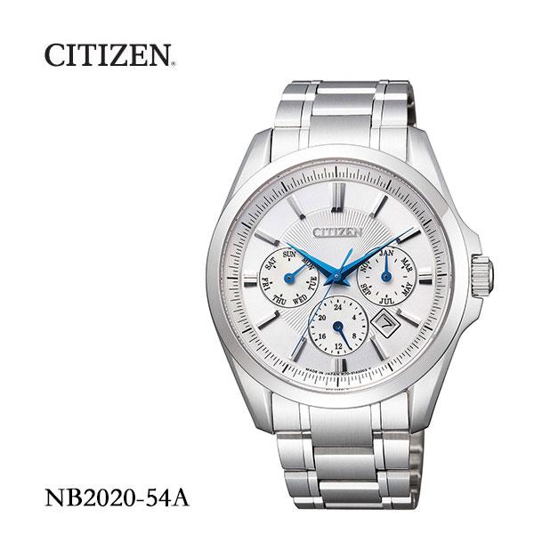 シチズン CITIZEN メカニカルウォッチ マルチハンズ 腕時計 NB2020-54A