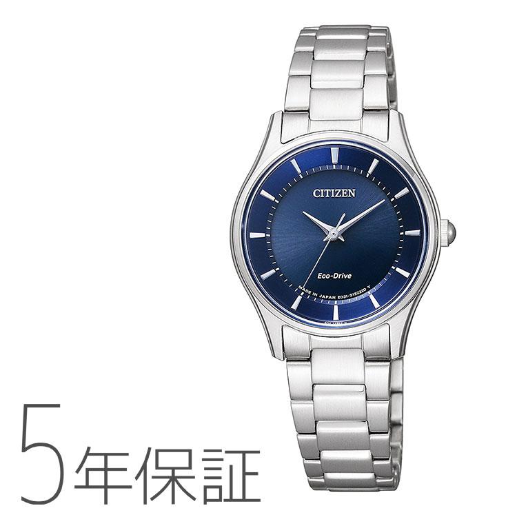 シチズンコレクション Citizen collection エコドライブ ペア レディース 腕時計 EM0400-51L