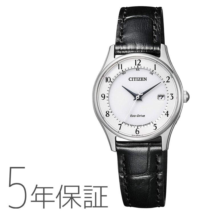 CITIZEN COLLECTION シチズンコレクション ES0000-10A シチズン CITIZEN 電波ソーラー 革バンド ペアモデル レディース 腕時計