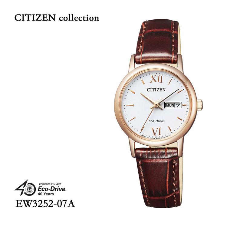 シチズンコレクション CITIZEN COLLECTION ペア レディース EW3252-07A 腕時計