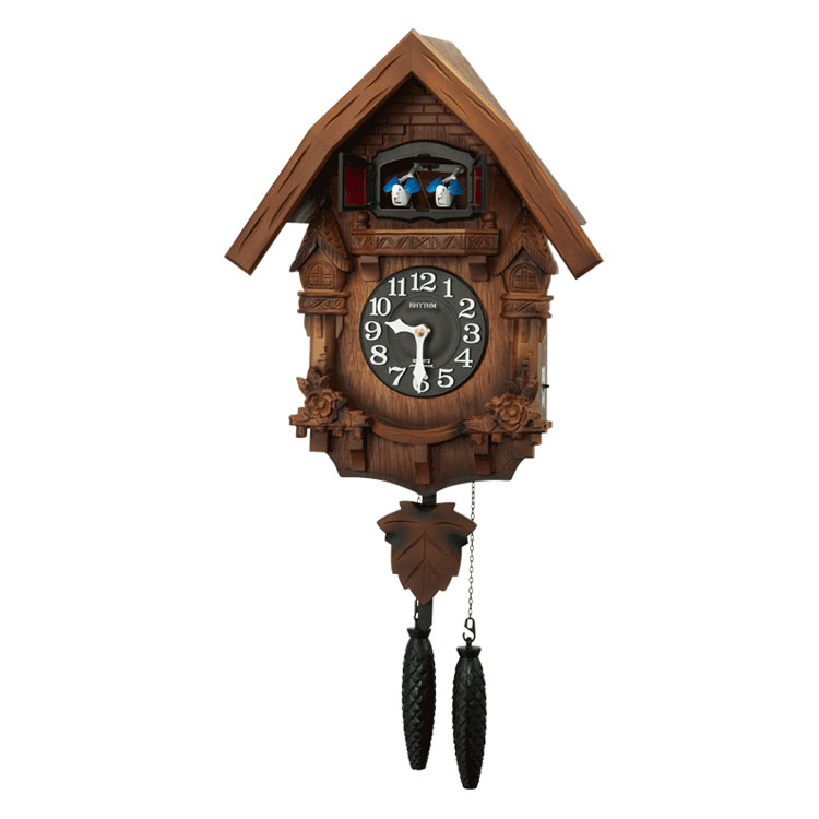 ランキング1位獲得 送料無料 スーパーSALE:輸入時計MAX70%OFF アデッソMAX40%OFF ランキングTOP10 リズム 掛け時計 掛時計 ショップ カッコー時計 鳩時計 クロック CLOCK カッコーテレスR 4MJ236RH06