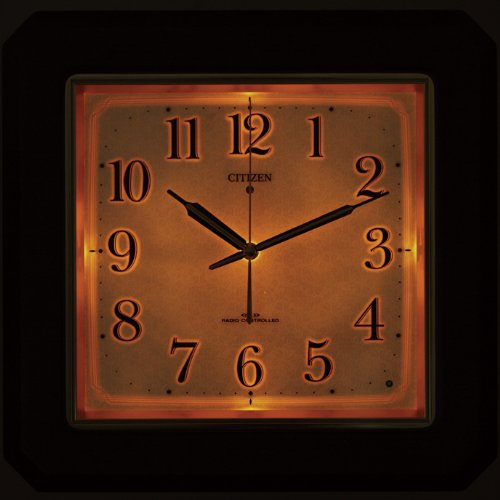 Citizen Citizen rhythm clock electric wave wall clock ネムリーナピュア M493F 4MN493-N06
