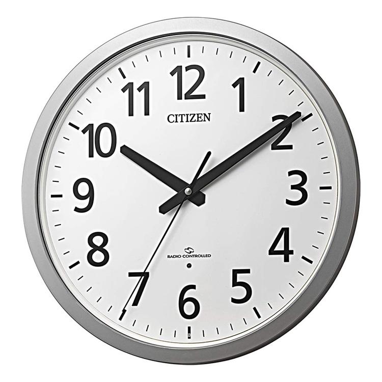 シチズン CITIZEN リズム時計 電波時計 掛け時計 電波掛け時計 4MY855-019