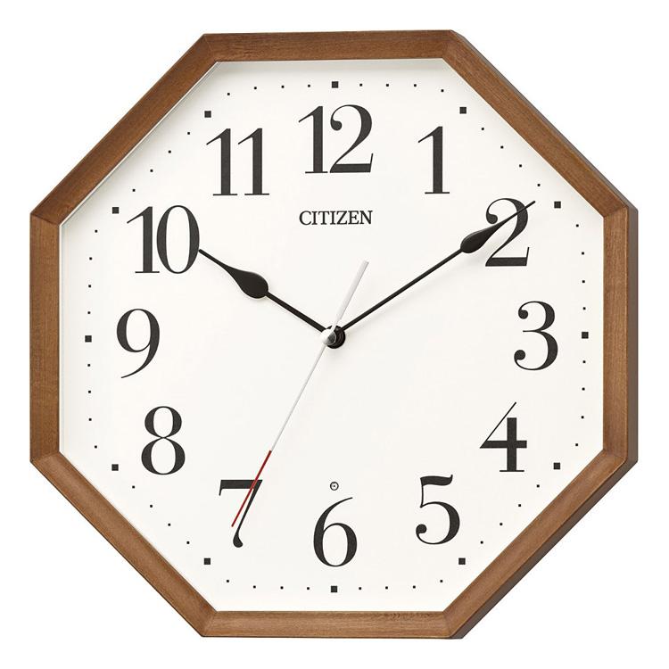 シチズン CITIZEN リズム時計 電波時計 掛け時計 電波掛け時計 8MY531-006