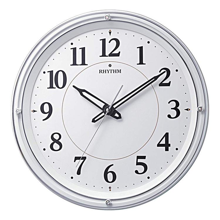 リズム時計 電波時計 掛け時計 電波掛け時計 リバライト533 8MY533SR03