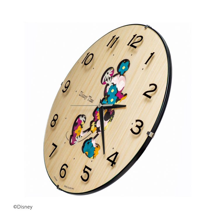 E Bloom Seiko Seiko Mickey Wall Clock Wall Clock Disney
