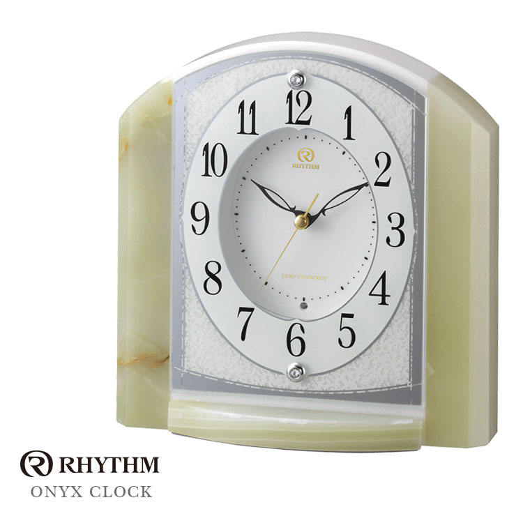 リズム時計 電波置時計 電波時計 置き時計 RHG-S71 4RY703HG05 お取り寄せ