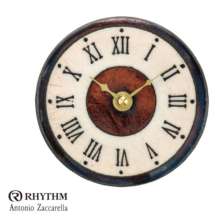 リズム時計 掛時計 置き時計 掛け置き兼用 Zaccarella ザッカレラ Z154 ZC154-009 お取り寄せ