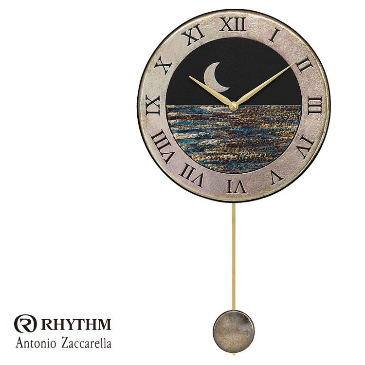 リズム時計 掛時計 飾り振り子付時計 Zaccarella ザッカレラ Z181 ZC181-004 お取り寄せ