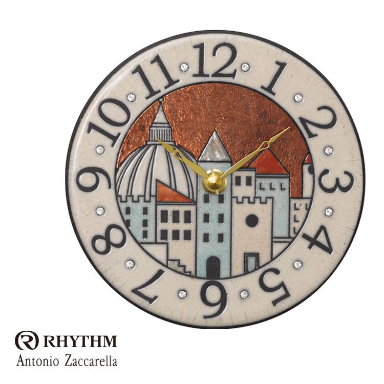リズム時計 掛時計 置き時計 掛け置き兼用 Zaccarella ザッカレラ Z903 ZC903-001 お取り寄せ