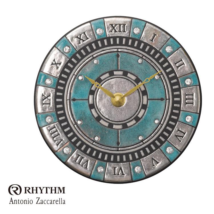 リズム時計 掛時計 置き時計 掛け置き兼用 Zaccarella ザッカレラ Z905 ZC905-004 お取り寄せ