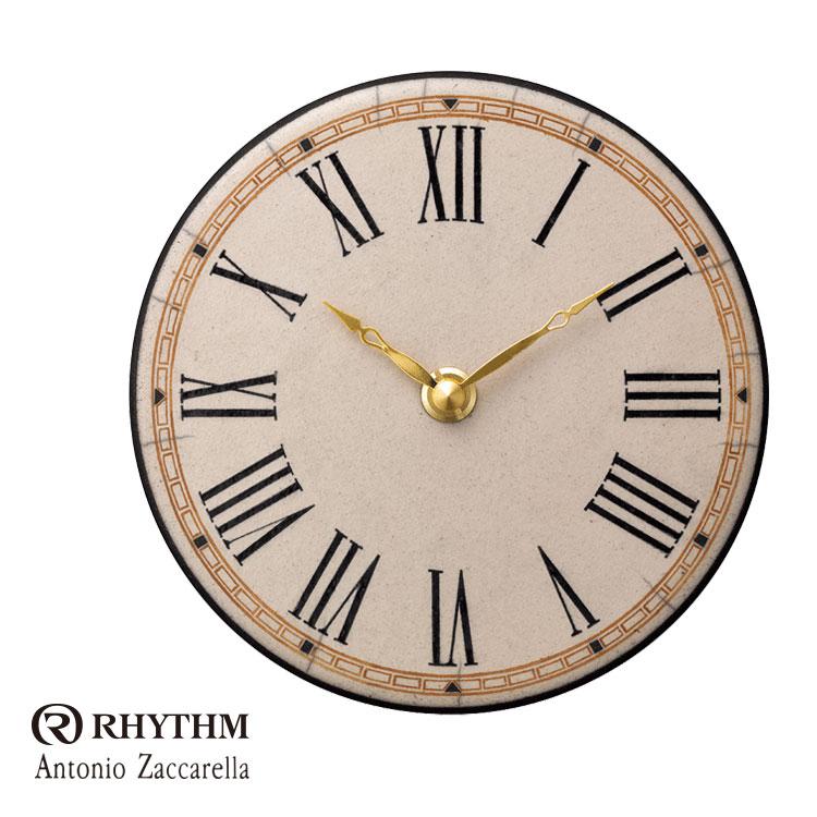 リズム時計 掛時計 置き時計 掛け置き兼用 Zaccarella ザッカレラ Z922 ZC922-003 お取り寄せ